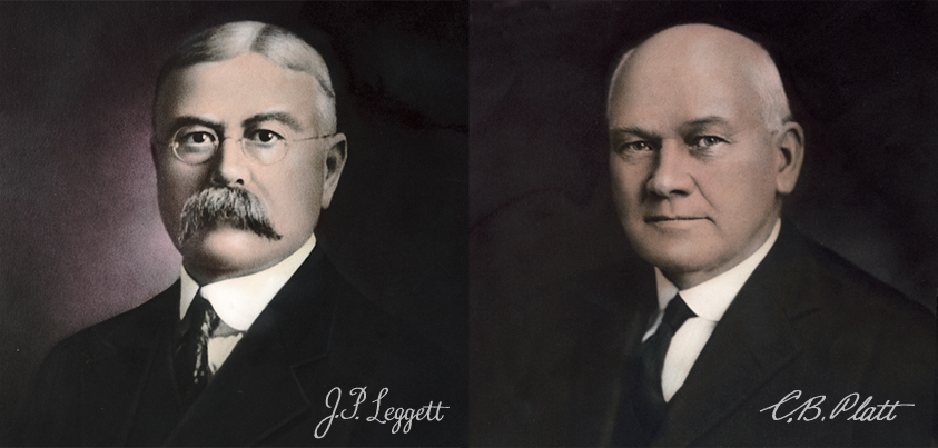 J.P Leggett & C.B. Platt founded the company in 1883.