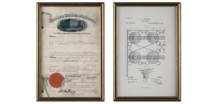 Our first patent.