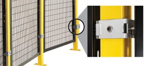 Folding Guard recently introduced its new Drop-N-Lock® bracket system for the Saf-T-Fence® line. It allows for quick installation and removal of the fencing panels, saving substantial installation and maintenance costs.