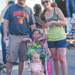 Leggett employee Lindsey Odaffer and her family enjoying the evening.