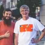 Leggett employees Matt Heflin and Ned Mayes