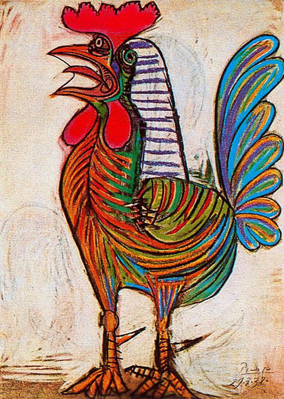 A Rooster by Pablo Picasso