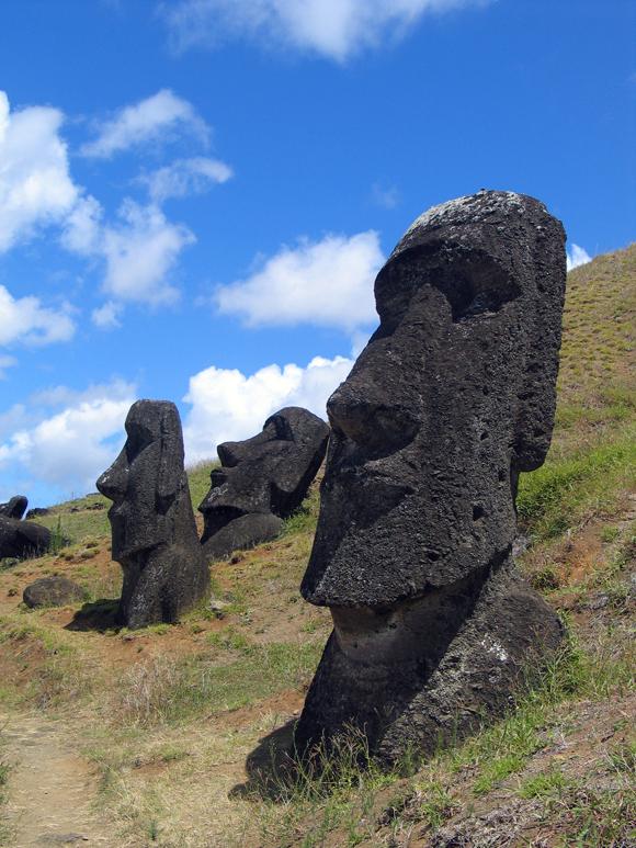 Moai - Rapa Nui People