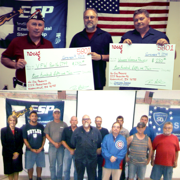 2014 and 2015 Patriot Day Celebrations at L&P's Kendallville, IN facility