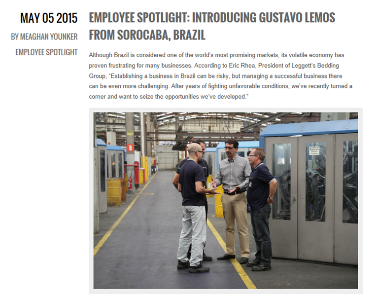 Employee Spotlight - Introducing Gustavo Lemos from Sorocaba, Brazil