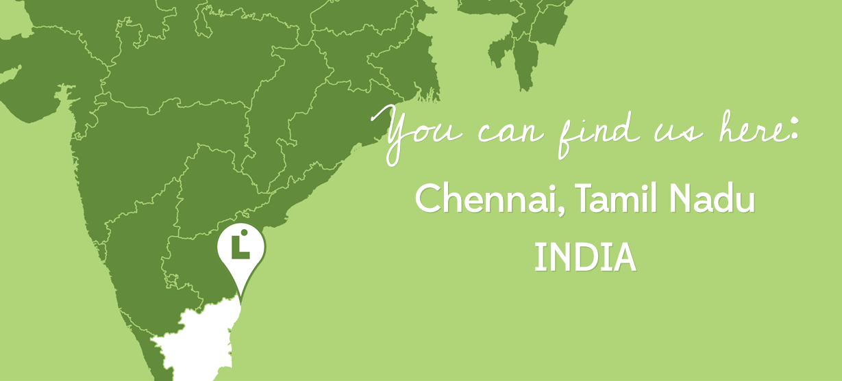 You Can Find Us Here - Chiennai, Tamil Nadu, India