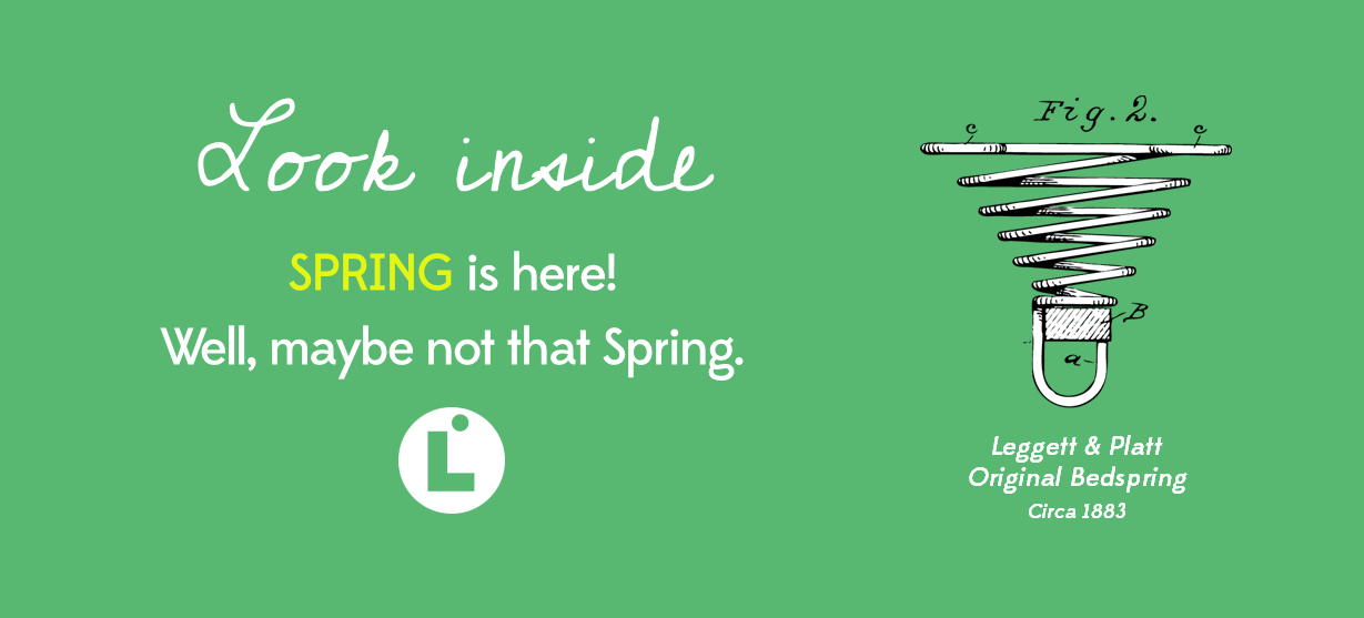 Look Inside - Spring is Here