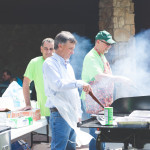 Special thanks to our partners who grilled hamburgers and hot dogs for our outdoor lunch. It was a great day!