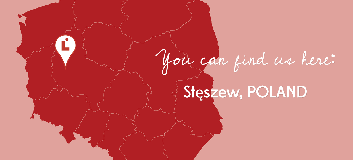 You Can Find Us Here - Steszew, Poland