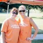 Tiffany Johnson and Kiley Williams, two of our gracious volunteers.