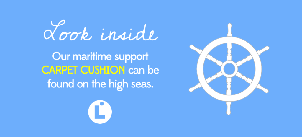 Look Inside - Maritime Support Carpet Cushion